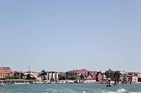 full view of Parrocchia S. Maria Elisabetta, Venetian Lagoon, Venice, Italy, Europe