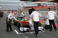 Paul di Resta, Testing, Circuit de Catalunya, Barcelona, Espanha