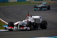 Kamui Kobayashi, Testing, Jerez de la Frontera, Espanha