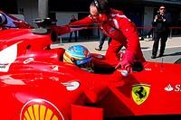 Fernando Alonso, Testing, Jerez de la Frontera, Espanha