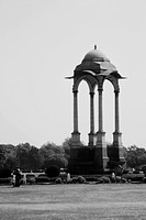 War memorial in a city, India Gate, Delhi, India