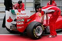 Fernando Alonso, Testing, Barcelona, Espanha