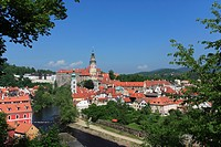 Cesky Krumlov Castle, Street, Cesky Krumlov, Czech Republic
