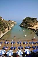 'Canal d' Amour' beach, Corfu island, Greece