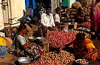 The Mapusa market takes place every Friday where people from the surrounding villages come to sell their goods.