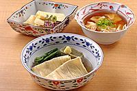 Yuba dishes