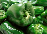 Close Up Image of Green Pepper