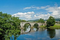 Bridge over the River Forth Stirling Scotland