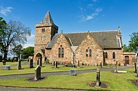 Aberlady parish church, East Lothian, Scotland, UK