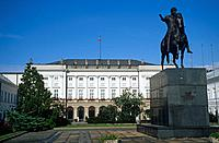 the Presidential Palace or Radziwill palace is the elegant classical building constructed as a family home,and since July 1994 it has been the officia...