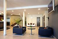 Upscale Hotel Lobby