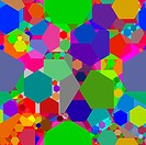kaleidoscope 2, abstract texture vector art illustration