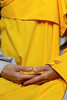 Photo essay for press only. Buddhist meditation.