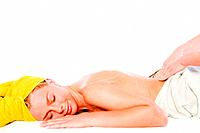 Wellness girl series massage lower back
