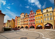 Jelenia Gora-Old Town, Poland, Europe