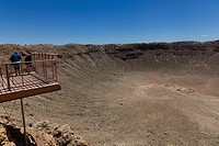 Meteor Crater, Arizona, USA