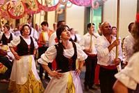 Sao Joao da Vila festival  Vila Franca do Campo, Sao Miguel island, Azores, Portugal