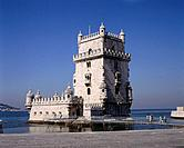 Belem Tower is a fortified tower in Belem. It was built in the early 16th century in the Portuguese late Gothic style,the Manueline,to commemorate the...