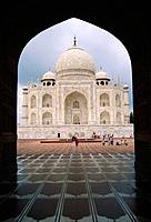 The Taj Mahal is one of the most famous buildings in the world,a Moghul Mughal style mausoleum built in 1653 by Shah Jahan in memory of his wife. It i...