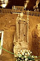 The working Salt Mines of Wieliczka are a UNESCO world heritage site,and the interior caves have a chapel,with carvings made in the salt walls. They a...