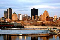Canada, Quebec, Montreal, old port, view from Jacques Cartier quay