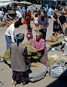 Uzbekistan, Samarkand, market