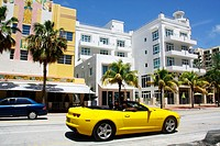 Art-deco, Miami Beach, Miami, Florida, United States
