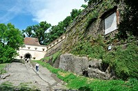 Riegersburg Castle, located at 482 metres high over a rocky outcrop  Put up in the Eleventh Century and took its current look in the Seventeenth Centu...