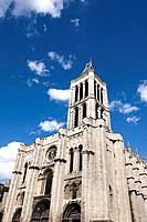 France, Paris, basilica of Saint Denis