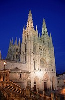 Spain, Castilla Leon, Burgos, Cathedral.