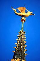 Belgium, Ghent, spire of the belfry