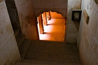 A Passage in the Golden Fort Complex, Jaisalmer, Rajasthan, India