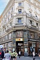 H&M shop on Graben street, Vienna, Austria, Europe