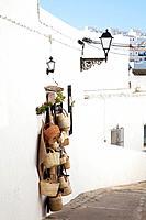 hanging baskets, vejer de la frontera spain