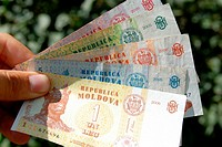 Moldovan bank notes