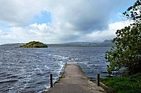 the isle of inishfree on lough gill, county sligo ireland