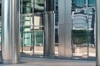 Modern architecture, Canary Wharf, London, UK