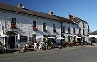 outdoor village cafe, inistioge, county kilkenny, ireland