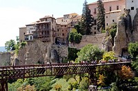 Hanging Houses of Cuenca, Castilla La Mancha, Spain