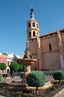 Parish of Our Lady of the Assumption, Valdepeñas, Ciudad Real, Castile-La Mancha, Spain