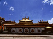 Jokhang Temple in Lhasa,Tibet