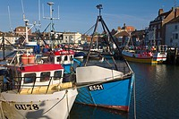Fishing Boats, Weymouth Harbour, Dorset, England