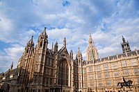 Westminster Abbey and Saint Margaret´s Church, Westminster, Westminster Palace, Westminster Palace, City of Westminster, Parliaments House, Statue of ...