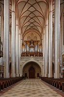 Landshut, Stifts_ und Pfarrkirche St. Martin