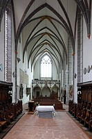Blick aus dem Chor nach Westen