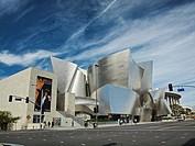 Walt Disney Concert Hall  Los Angeles, California  Frank Gehry architect