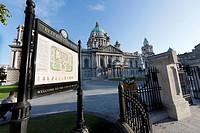 City Hall. Belfast. Northern Ireland.