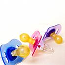 Three Pacifiers