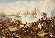The Battle of New Orleans, January 8, 1815  Final battle of the War of 1812, resulting in victory for the American forces against the British  After a...