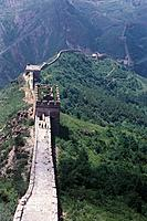 View at the Great Wall of China, Simitai, China, Asia